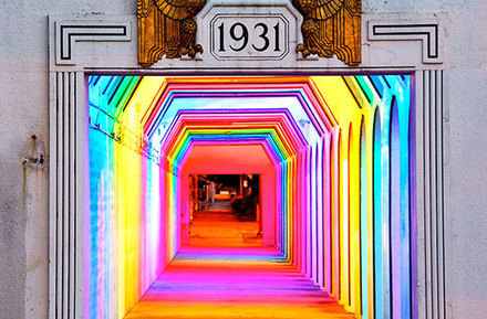 1931 Art Deco Underpass Transformed Into Colours & Lights | Inspiration | Scoop.it