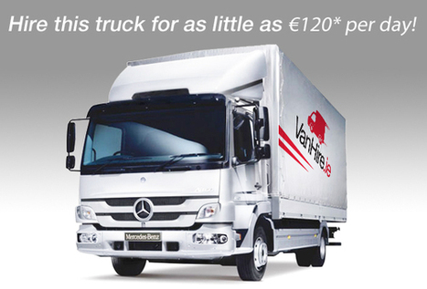 Truck Hire Galway | Hire Trucks at low cost with Vanhire.ie | VanHire | Scoop.it