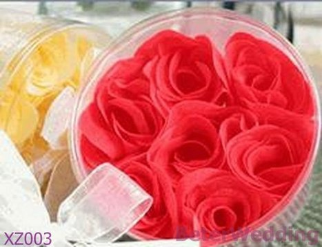 Aliexpress.com : Buy Party gifts wholesale XZ003 Rose Petals Round Box Wedding Favors use as wedding gift from Reliable Party favors suppliers on Your Unique Wedding Favors | Soap Gift Set, Wedding Bubbles | Scoop.it