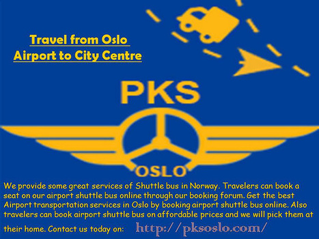 Travel from Oslo Airport to City Centre   pksoslo1   Scoop.it