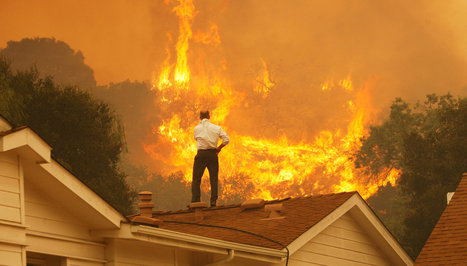 California Wildfire Drives Thousands From Homes | Sustain Our Earth | Scoop.it