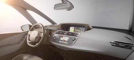 Adelanto del interior del Citroën C4 Picasso en el vídeo del Technospace | Tuning, motor, car audio | Scoop.it