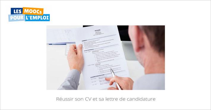 Aujourd'hui sur vos écrans, la 2e session du MOOC Réussir son CV et sa lettre de candidature | MOOC Francophone | Scoop.it