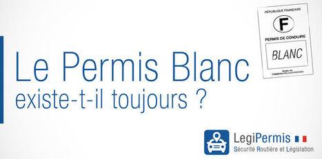 Le permis blanc existe-t-il toujours ? - Blog LegiPermis | Sécurité routière | Scoop.it