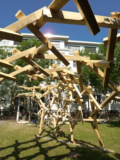 CNC carpentry: the 'selfsupportingframework' | Rendons visibles l'architecture et les architectes | Scoop.it