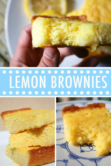 Pucker Up: A Dazzlingly Tart Lemon Brownies Recipe | Candy Buffet Weddings, Events, Food Station Buffets and Tea Parties | Scoop.it