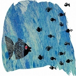 The Little Black Fish and other stories: Iranian illustrated children's books – in pictures | Children's books | Scoop.it