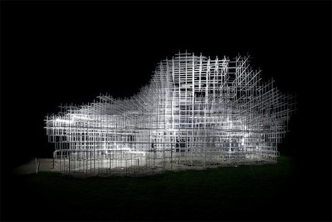 Sou Fujimoto's Giant Serpentine Pavilion Converted into a Storm of ... | lighting | Scoop.it