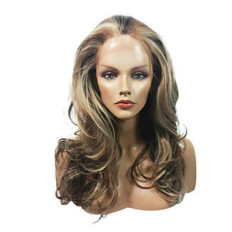 Lace Front Stylish Long Mixed Color Wavy Heat-resistant Synthetic Wig – WigSuperDeal.com | Party Wigs | Scoop.it