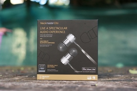 Le test de la semaine : Neckmaster Elite, des écouteurs intra-auriculaires d'exception | Freewares | Scoop.it