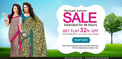 Super Summer Sale is On for Another 48 Hours | sareez | Scoop.it