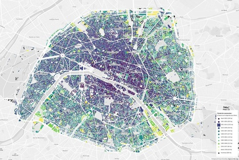 Paris buildings, by construction date | Ambiances, Architectures, Urbanités | Scoop.it