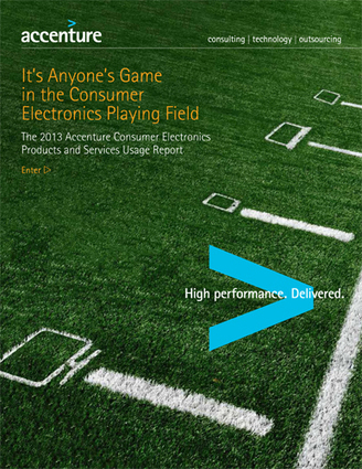 2013 Consumer Electronics Technology Trends Study - Accenture | Designing services | Scoop.it