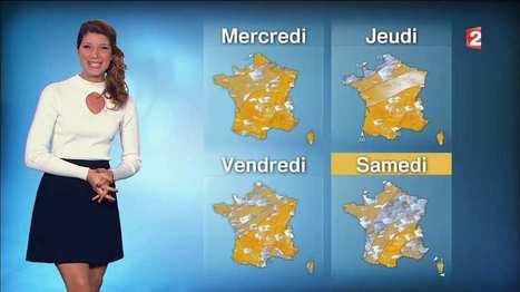 Photos : Chloé Nabédian la nouvelle miss météo sexy de France 2 | Radio Planète-Eléa | Scoop.it