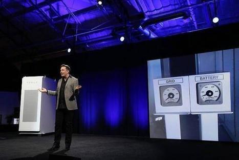 Innovation. Une batterie pour stocker du courant chez soi | Innovation et technologie | Scoop.it