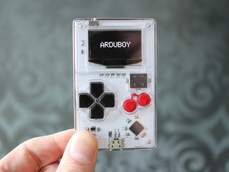 Arduboy - Card Sized Gaming | Open Source Hardware News | Scoop.it