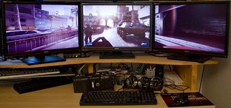 Triple-screen gaming setups put under the microscope.. drooling | Tech Gadgetry | Scoop.it