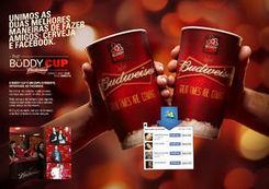 Budweiser invente le gobelet connecté à Facebook | Food & Drinks Innovation | Scoop.it