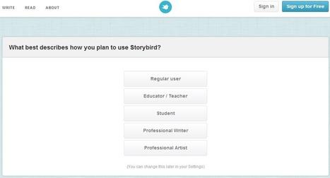Storybird - Crie um livro de histórias - Ferramentas Educativas | Edulateral | Scoop.it