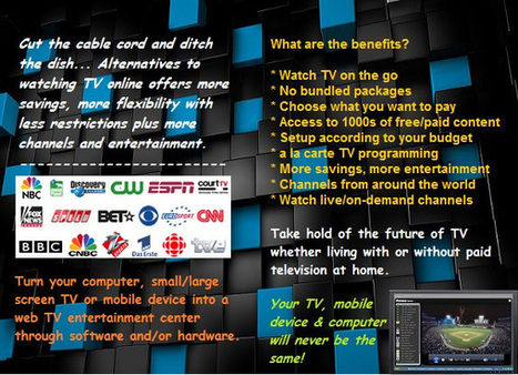 Watch TV Online Infographic | Satellite Direct TV Software for PC, Mac & Mobile | Scoop.it