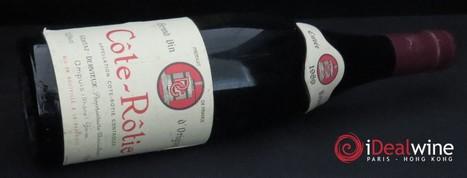 La belle enchère : deux bouteilles de Côte-Rôtie du domaine Gentaz-Dervieux 1989 adjugées 1651 € ! - Le blog d'iDealwine sur l'actualité du vin   oenologie en pays viennois   Scoop.it