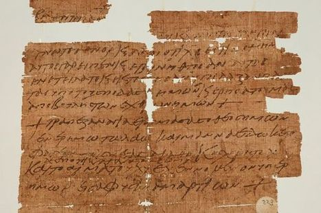Papyrus Fragment Bears Early Christian Prayers - Archaeology Magazine | Ancient History | Scoop.it