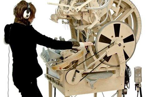 Cultura Inquieta - Este asombroso y disparatado instrumento hace música con 2.000 canicas | FOTOTECA MUSICAL | Scoop.it