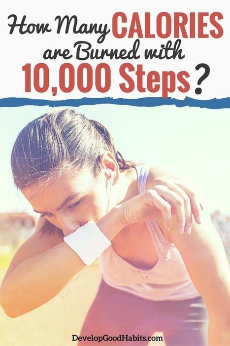 How Many Calories Are Burned with 10,000 Steps?   Health Habits   Scoop.it