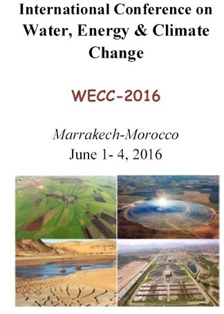 International conference on Water, Energy and Climate Change (WECC-2016)  Marrakech-Morocco June 1-4, 2016| COP22 | FTN press review | Scoop.it