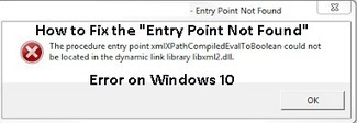 """How to Fix the """"Entry Point Not Found"""" Error in Windows 10 - PC Error Repair Solutions n Guide   Fix Windows Error   Scoop.it"""