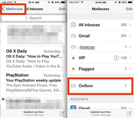 """How to View and Re-Send an """"Unsent Message"""" in Mail for iOS - OSXDaily   iPads, MakerEd and More  in Education   Scoop.it"""