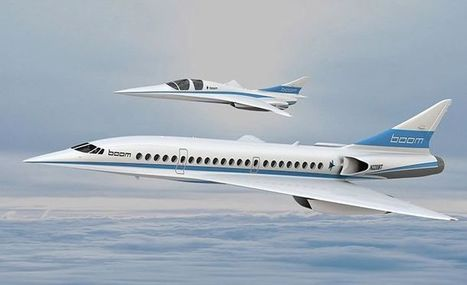 2016 :XB-1 l' avion qui vole à plus de deux fois la vitesse du son | Actualités Top | Scoop.it
