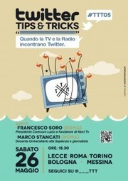 [DIFFONDERE] #TTT #TTT05 Quando la Radio e la TV incontrano Twitter | Social media culture | Scoop.it