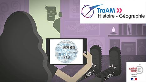 TRAAM HG 2015-2016 : Apprendre à apprendre, moment numérique et usage simple - Académie de Rennes | Usages numériques et Histoire Géographie | Scoop.it