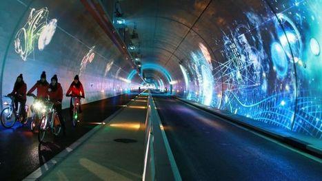 À Lyon, un tunnel spécifique pour les piétons, les vélos et les bus | Vélo en ville, villes à vélos | Scoop.it