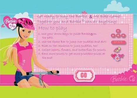 لعبة دراجة باربي | العاب تلبيس بنات | Scoop.it