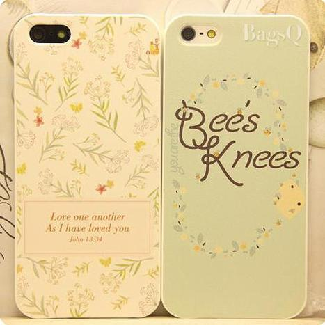 $ 35.99 Fresh Leisure Style Leaves Image Dull Polish Couple Carrying Case for iPhone 5/5S | favourites | Scoop.it