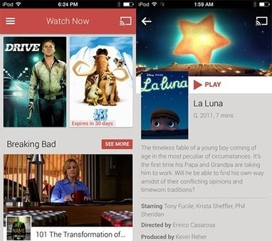 Google Play Movies & TV App for ios now available in Apple iTunes | News | Scoop.it
