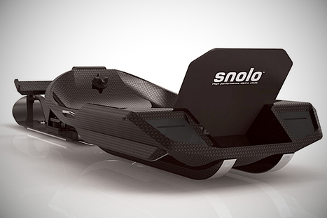 Snolo Stealth X Revolutionizes Snow Sleds | Art, Design & Technology | Scoop.it