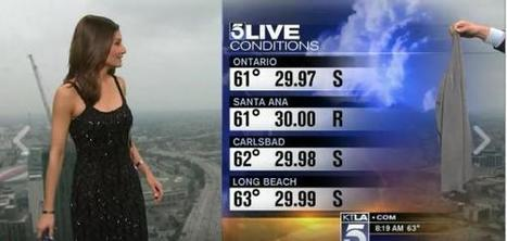 """Reporter Forced to Put on Sweater Live on Air to Cover Up """"Revealing"""" Dress   Women, Sexuality and Equality   Scoop.it"""