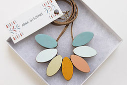 statement necklaces | notonthehighstreet.com | natural | Scoop.it