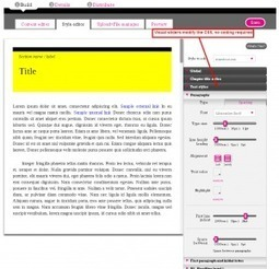 Ebook production tools, part 2: Vook | eReport | publishing | Scoop.it