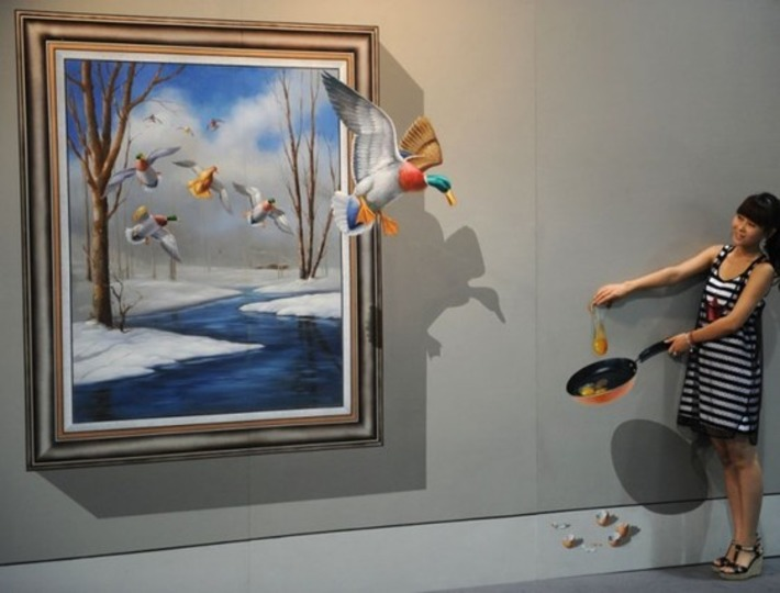 35 Awesome 3D Interactive Paintings - Magic Art works at Special Exhibition | Machinimania | Scoop.it