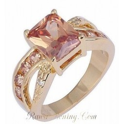 Cincin Mewah Champagne Topaz Cz - Rawa-Bening.Com | Womans Fashion, LifeStyle and Beauty | Scoop.it
