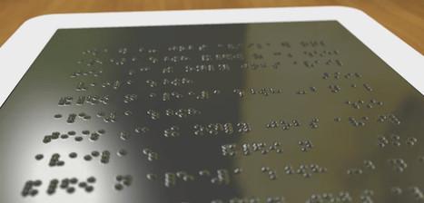 Desarrollan una pantalla de braille para llevar las matemáticas a los invidentes | Tecnología Educativa | Scoop.it