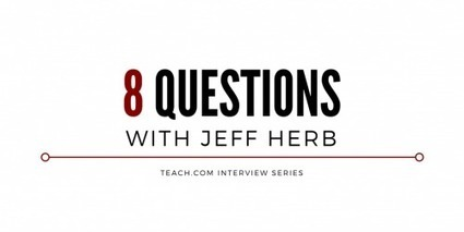 From Teacher to Tech-Savvy Principal: 8 Questions with Jeff Herb | Pedagogy and technology of online learning | Scoop.it