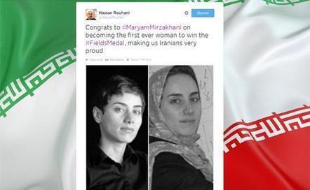 Médaille Fields: la presse d'Iran remet son voile à Maryam Mirzakhani | Archivance - Miscellanées | Scoop.it