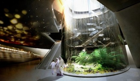Snohetta Creates An Urban Oasis For The Riyadh Metro in Saudi Arabia | green streets | Scoop.it