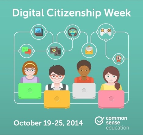 Digital Citizenship Week | Common Sense Media | NGOs in Human Rights, Peace and Development | Scoop.it