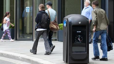 Londres : des poubelles qui collectent les données des smartphones font scandale | Nouvelles tendances | Scoop.it